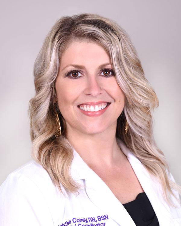 Chrissy Coney, enfermera titulada, BSN, CLC