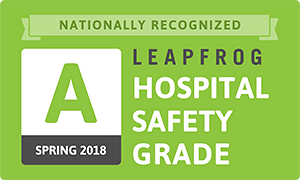Leapfrog Hospital Safety Grade Spring 2018
