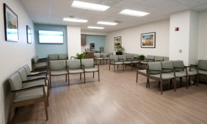Lakewood Ranch expansion waiting room