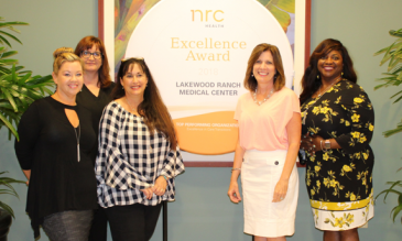 LRMC recibe premio a la excelencia2018 de NRC Health