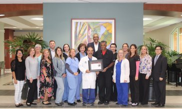 Lakewood Ranch Medical Center Receives Mission: Lifeline Gold Receiving Achievement Award