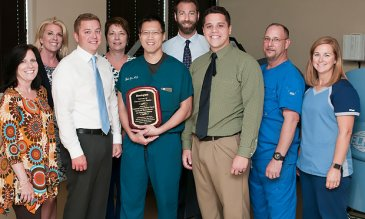 The Center for Wound Healing and Hyperbaric Medicine at Lakewood Ranch Medical Center has been recognized with a Center of Distinction Award for clinical excellence.