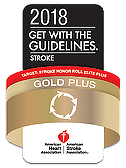 2018 Get With The Guidelins Strok Gold Plus Award